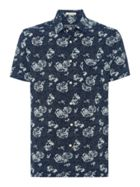 Men's Howick Japanese Indigo Pint Short Sleeve Shirt