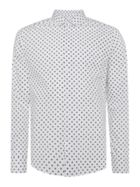 Men's Linea Chester Cross Hatch Spot Print Shirt