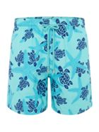 Men's Vilebrequin Starletts And Turtles Swimshorts