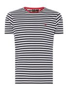 Men's Merc Stripe T Shirt With Pocket