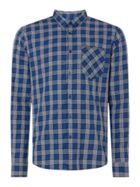 Men's Merc Kaiden Long Sleeve Jacquard Check Shirt