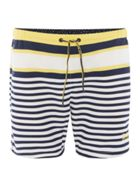 Men's Hugo Boss Quick Dry Bannerfish Striped Swimshorts