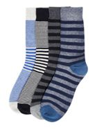 Men's Jack & Jones 4PK Jactank Stripe Socks