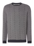 Men's Label Lab Virgo Jacquard Ottoman Two-Colour Sweat