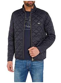 Barbour International Quilted Gear Jacket
