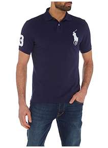 ... Polo Ralph Lauren Custom Fit Polo Player Shirt ab4e6a1c0b6