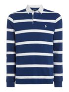 Long Sleeve Striped Rugby
