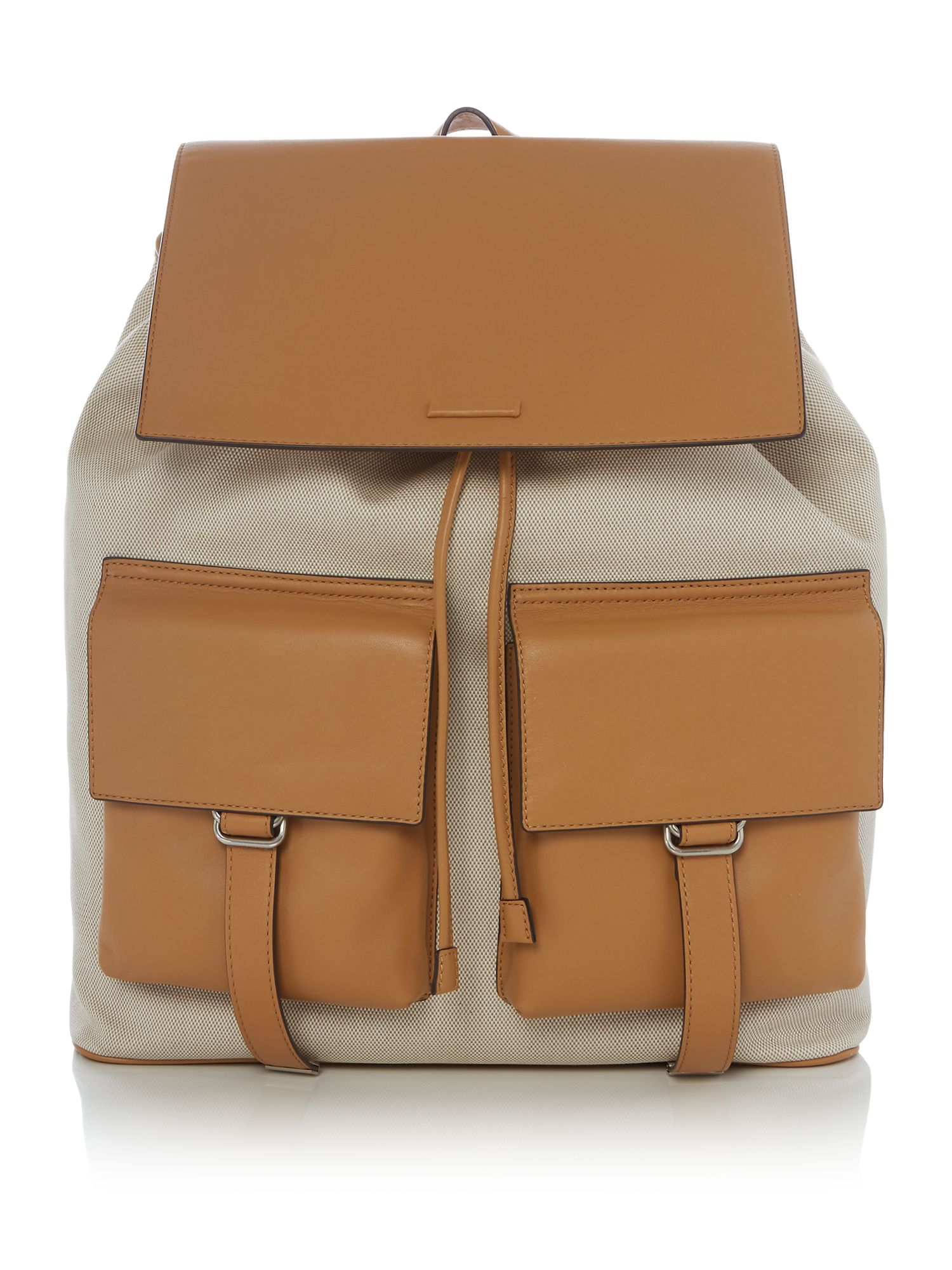 Michael Kors Billy Backpack Runway, Ecru