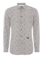 Men's Diesel Long Sleeve Thorn Print Shirt