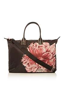 Ted Baker Laceey Large Print Nylon Tote Bag
