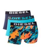 Men's Diesel 3 Pack All Over Print Logo
