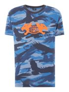 Men's Diesel Crow Camo Logo T-Shirt