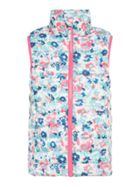 Joules Girls All-Over Ditsy Floral Zip Up Gilet