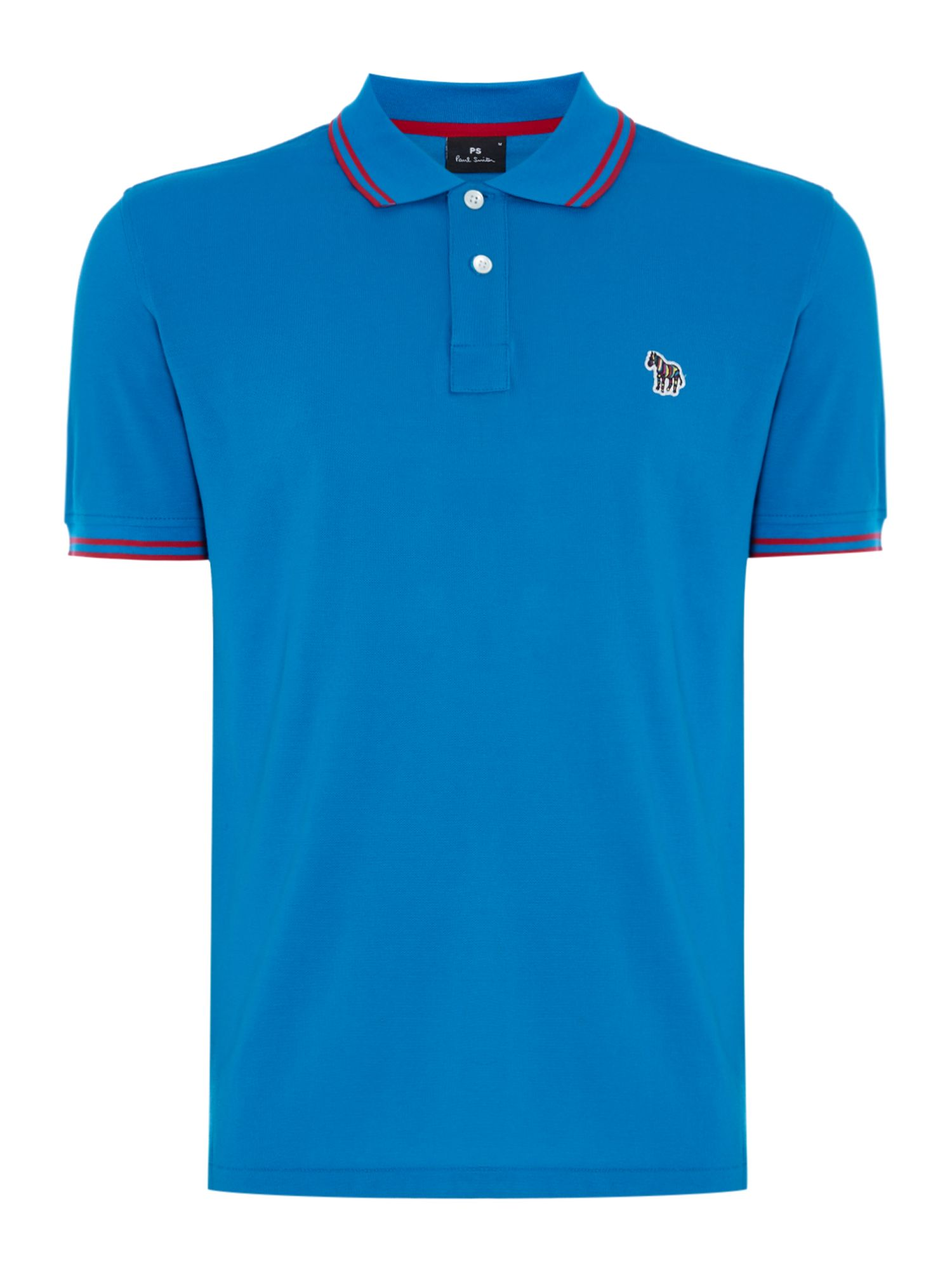 Tipped Collar Logo Polo by Ps By Paul Smith