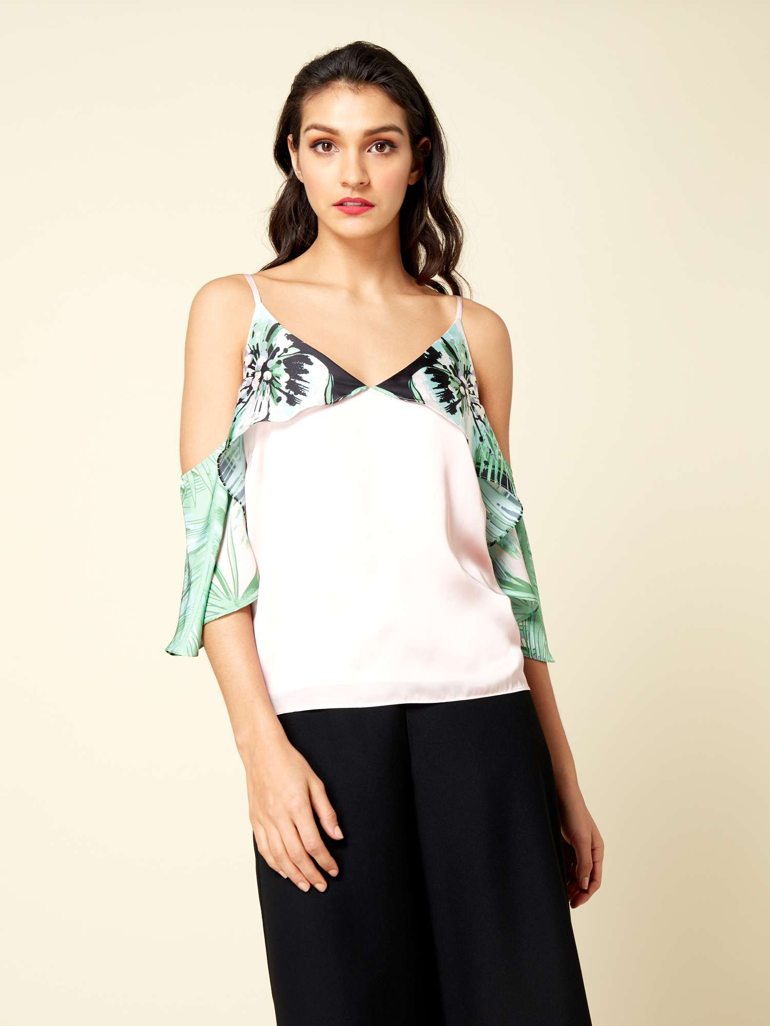 Cami Shoulder Top ISSA Isabelle Cold qXO4Ww0x