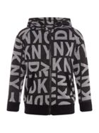 DKNY Boys Printed Zip-up Hoody