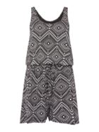 Maison De Nimes Tribal print playsuit