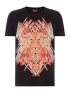 Men's Hugo Datches matchstick print t-shirt