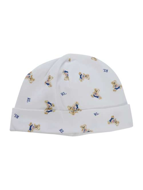 Polo Ralph Lauren Baby Boys Teddy All Over Print Hat - House of Fraser ee1a4505c63