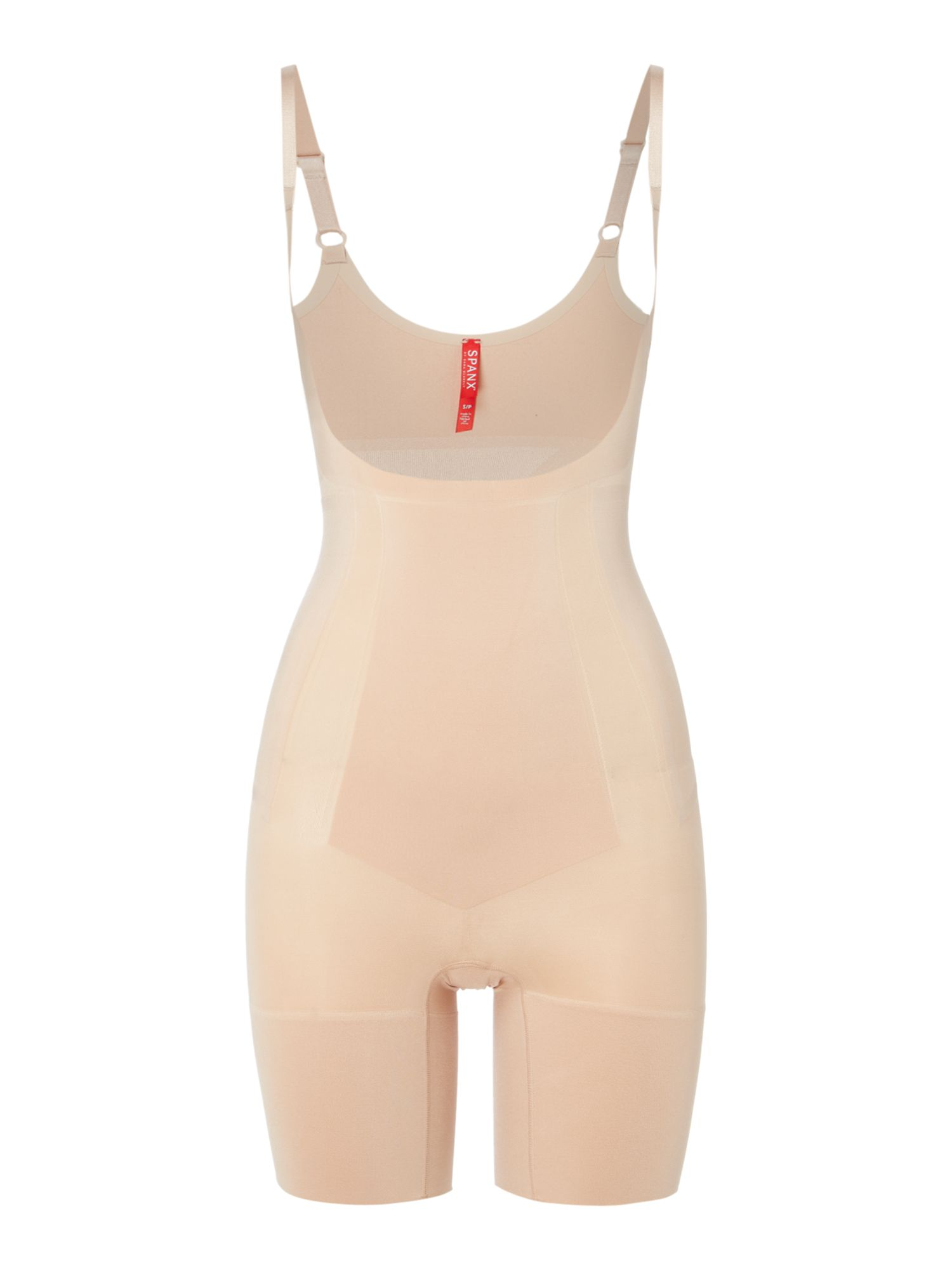 Oncore Open Bust Mid Thigh Bodysuit by Spanx