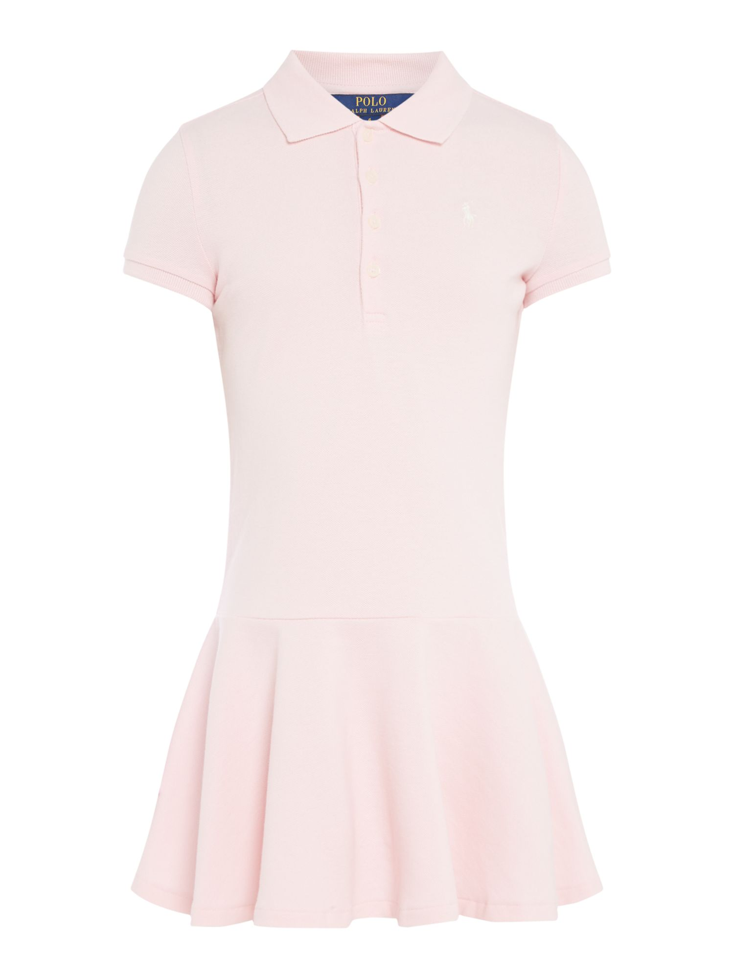 Polo Ralph Lauren Girls Ralph Lauren Polo Dress with Small Logo ...