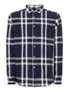 Men's Howick Linen Bold Check Shirt