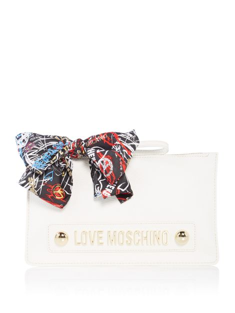 Lettering Love Moschino Cloutch Bag by Love Moschino