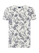 Men's GANT Leaf Printed T-Shirt