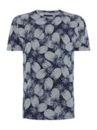 Men's Criminal Pineapple All Over Print T-Shirt