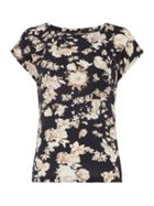 Lollys Laundry Floral print short sleeve top