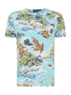 Men's Polo Ralph Lauren Hawaiin Printed T-Shirt