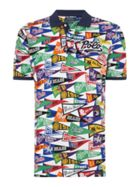Men's Polo Ralph Lauren Flag Printed Polo Shirt