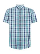 Men's GANT Windowpane Spring Checked Shirt