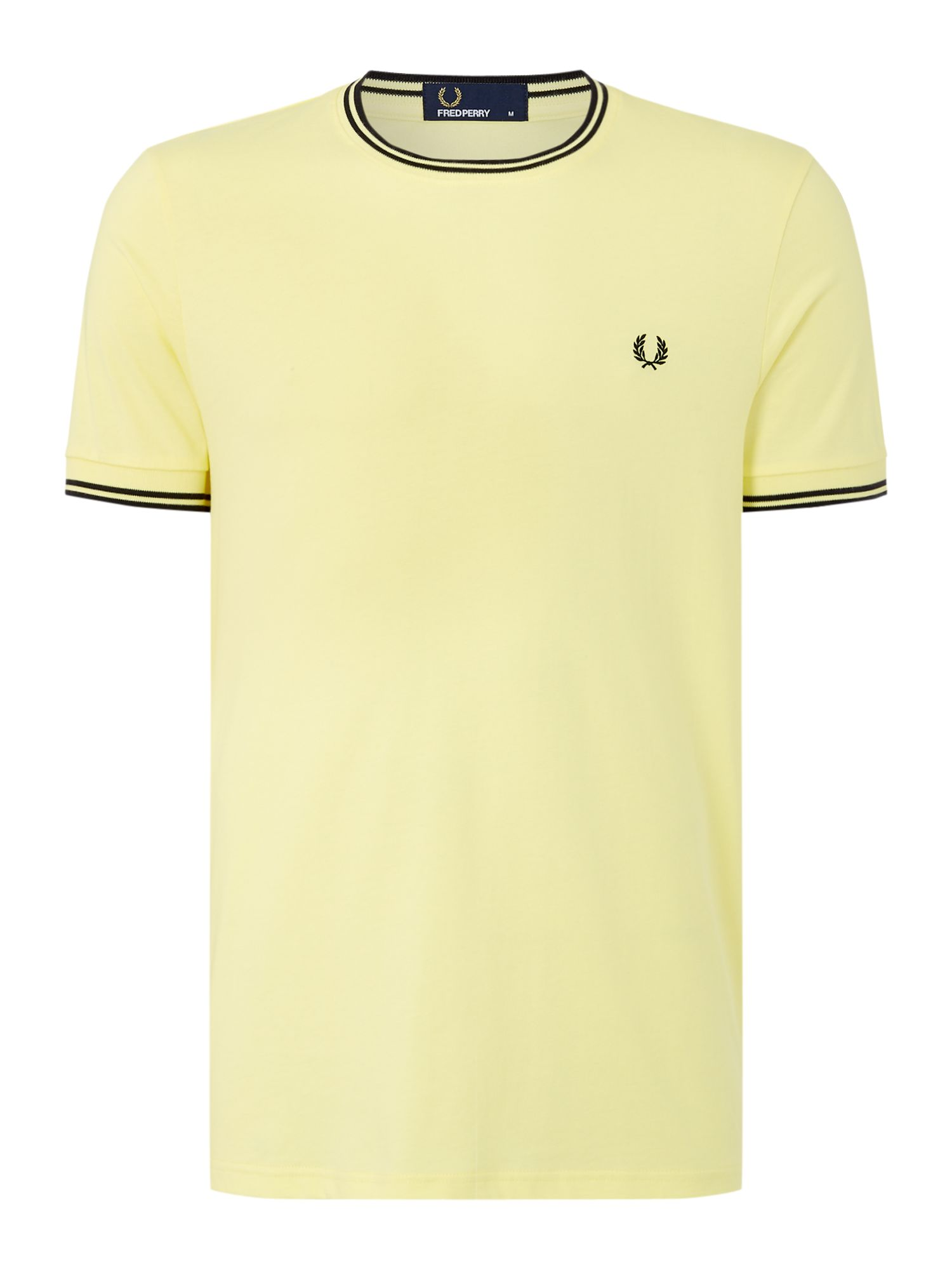 Twin Tipped Collar T Shirt by Fred Perry