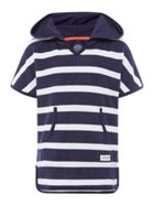 Joules Striped Towelling Swim Cover UP
