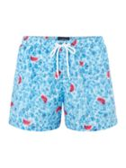 Men's Criminal Photographic Water Swim Shorts