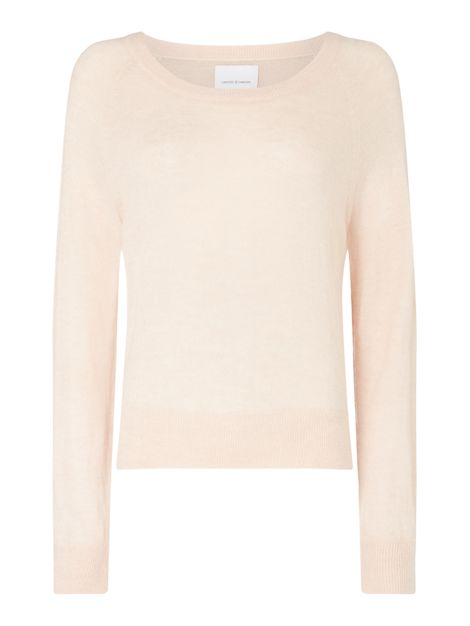 Crew Neck Long Sleeve Jumper by Samsoe And Samsoe