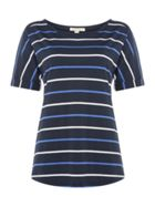 Barbour Marloes Short Sleeve Round Neck Striped Tee
