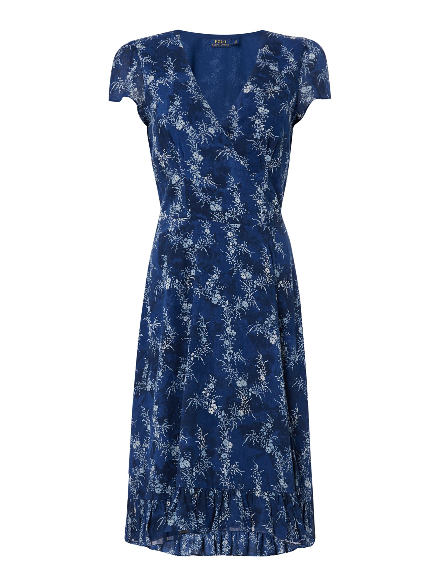 Polo Ralph Lauren Printed Dress with Tie Waist ...