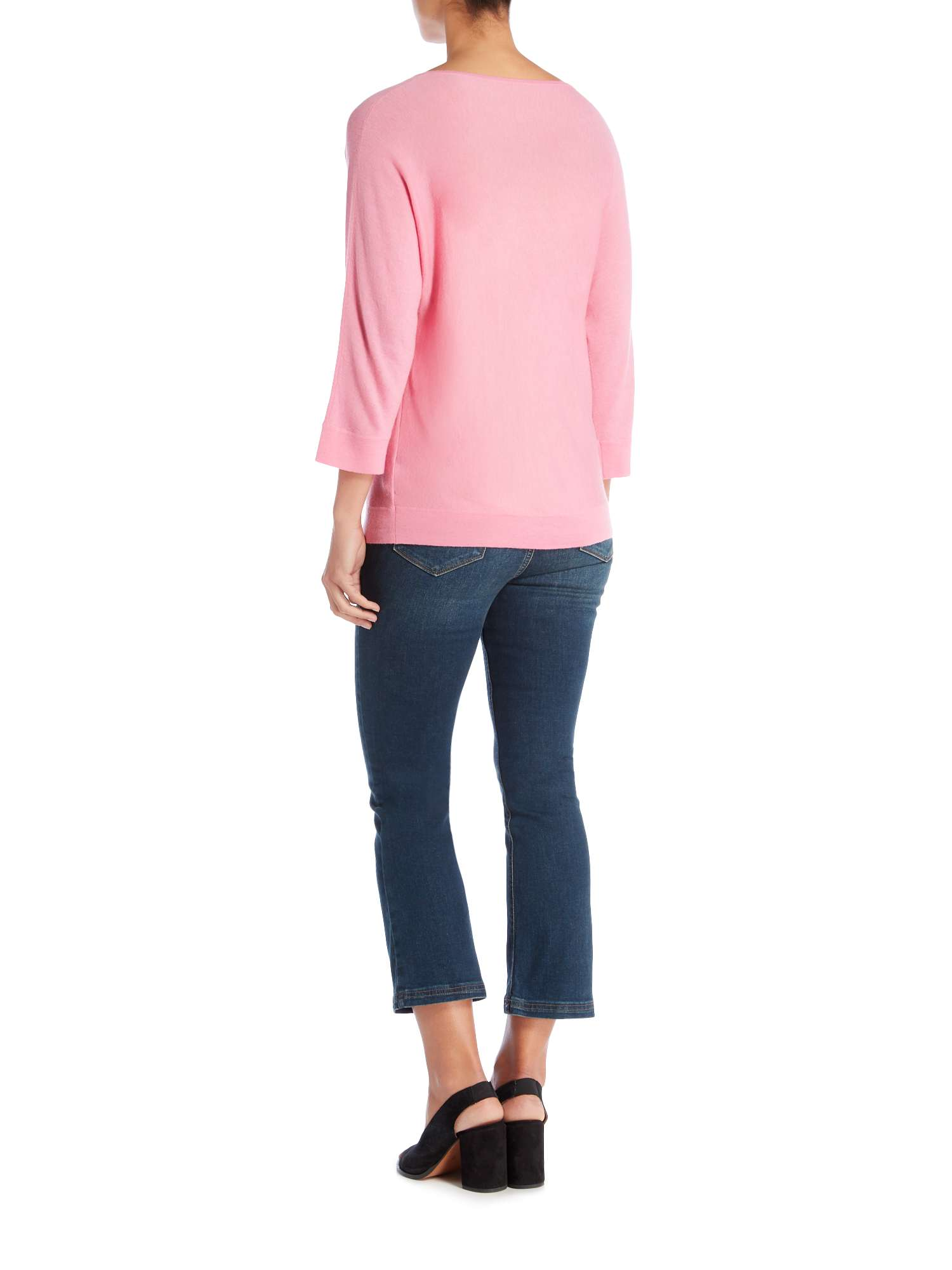 Sleeve Mara Long V Jumper Max Neck Weekend q6XFwFO