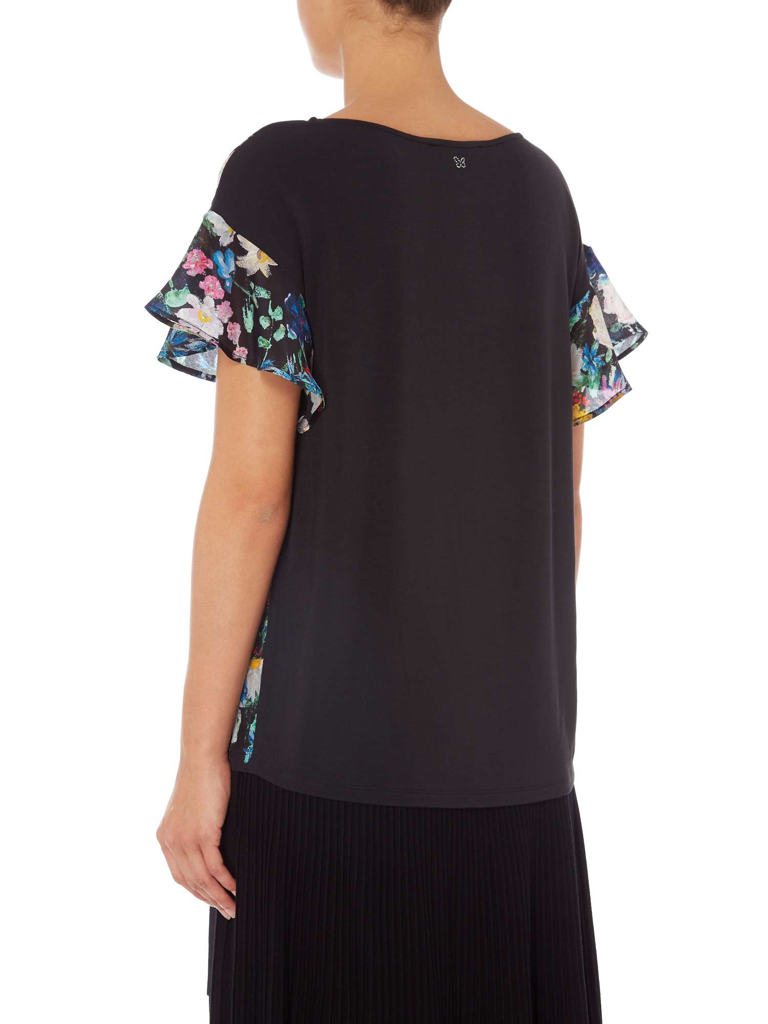 Sleeve Top Max Floral Weekend Mara Short xqwBS1v