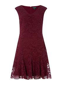 Lauren Ralph Lauren Francy tulip day dress ... 15595b3770b8b