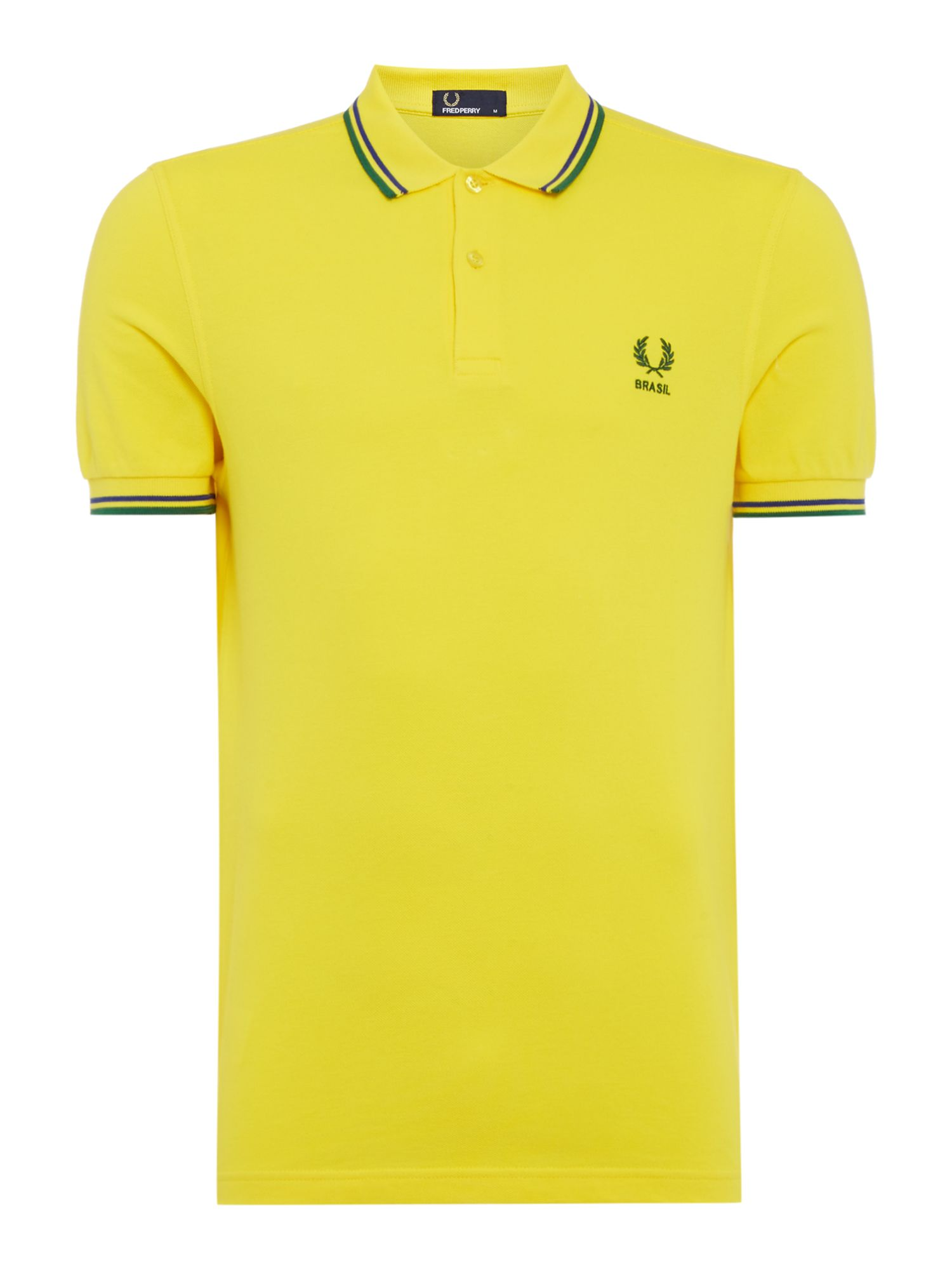 Twin Tipped Country Polo Shirt by Fred Perry