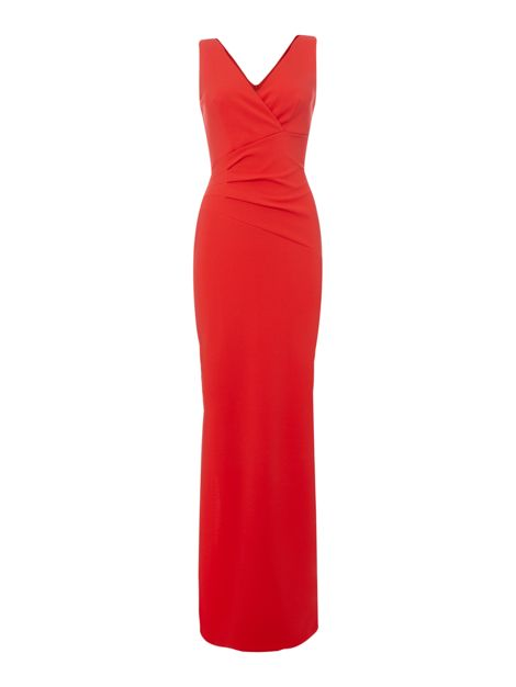 V Neck Gown by Sistaglam Loves Jessica