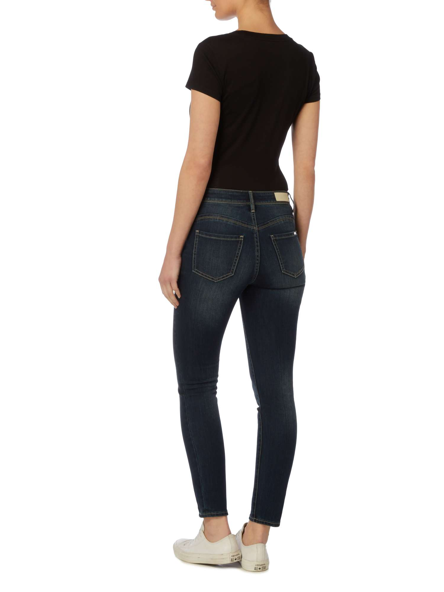Jeans Mid Armani Exchange Rise Skinny zfwB8Iqw