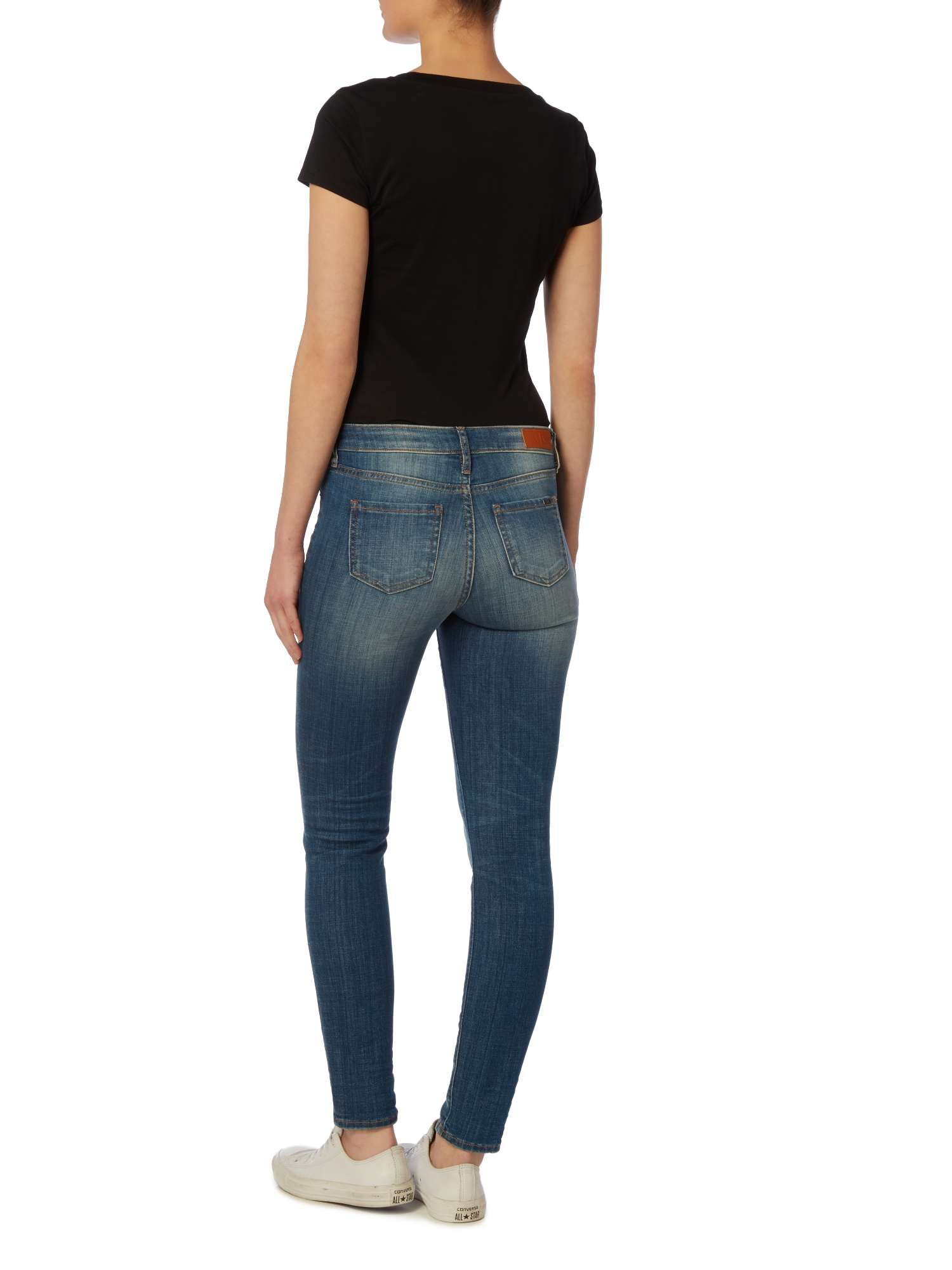 Super Jeans Exchange Mid Armani Rise Skinny wFXty6y