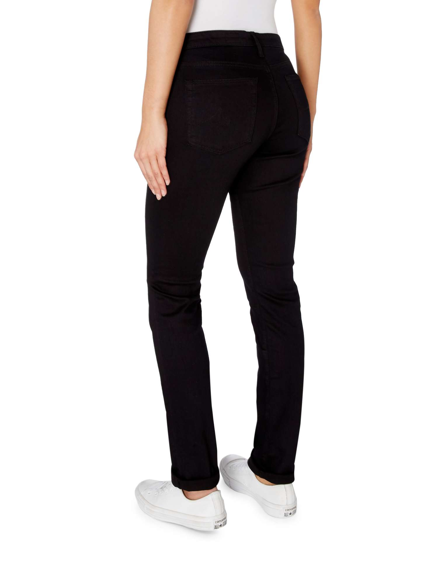 Jeans Black Skinny Mid AG Rise Jeans R7Opqp