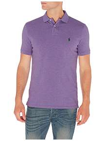 ... Polo Ralph Lauren Custom Fit Classic Mesh Polo Shirt 051562d0e1d