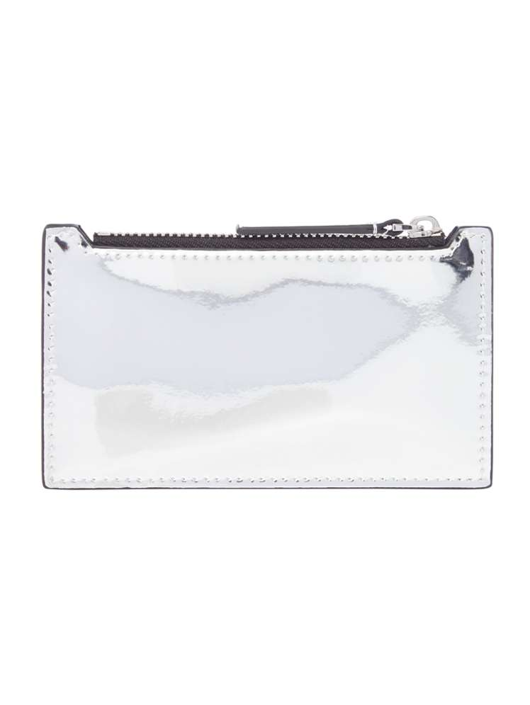 buy popular 60aab 0b4de Armani Exchange Metallic Patent Card Holder - House of Fraser