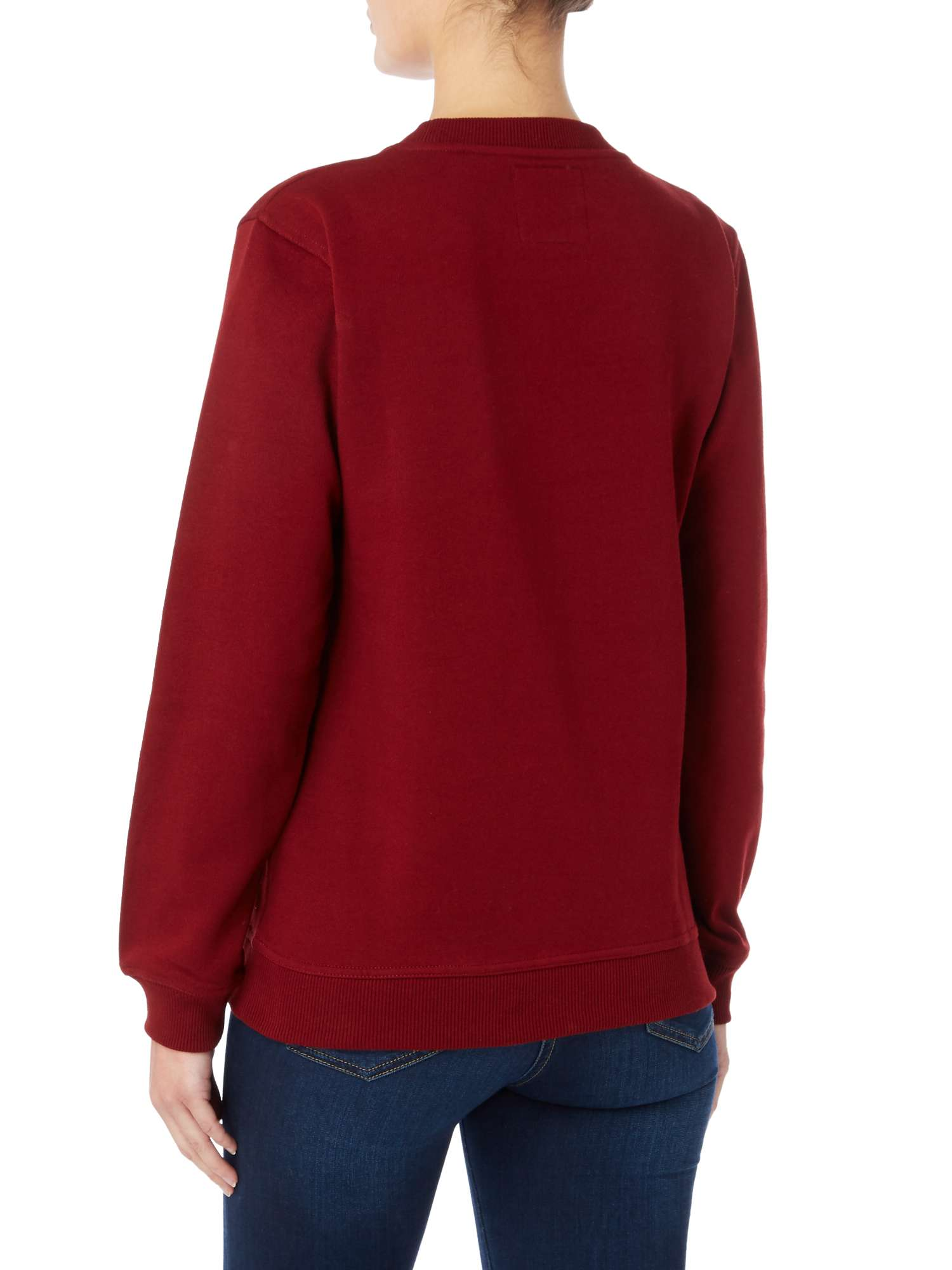 Running Sweater Wine Of Blake Seven Out Pwq551